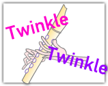 Twinkle for recorder